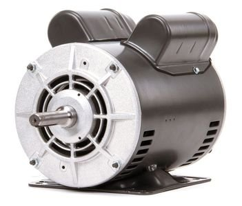 Dayton 1-1/2 HP Belt Drive Motor, Capacitor-Start, 1725 Nameplate RPM, 115/208-230 Voltage, Frame 56H - 4YU31