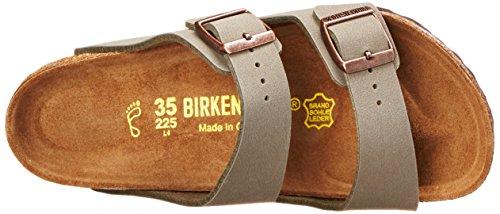Birkenstock Arizona-Birkibuc(tm) (Unisex), Stone Birkibuc&Trade, 35 (US Women's 4-4.5) Regular by Birkenstock (Image #7)