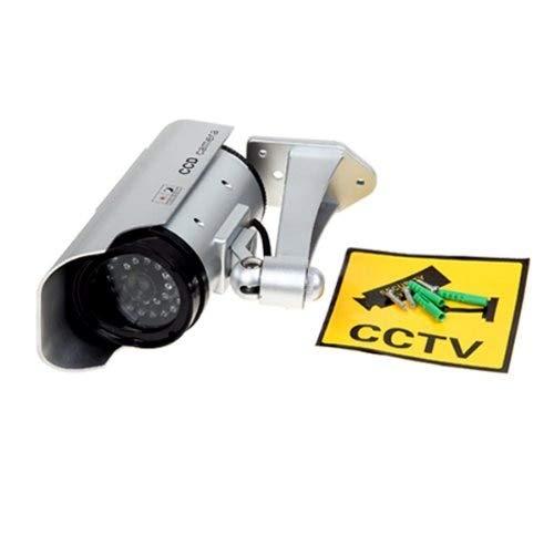 Value-5-Star - COTS-4 X CCTV TELECAMERA FINTA DUMMY OUTDOOR DA SORVEGLIANZA PROFESSIONALE VIDEO CAMERA WIRELESS,LED NEGOZIO OUTDOOR/INDOOR by Value-5-Star (Image #4)