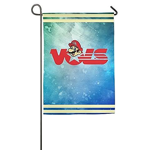 YFF Super Mario University Of Tennessee Volunteers Happy Home Sweet Flag 1218 Inch (Samsung Tab 4 Case Mario)