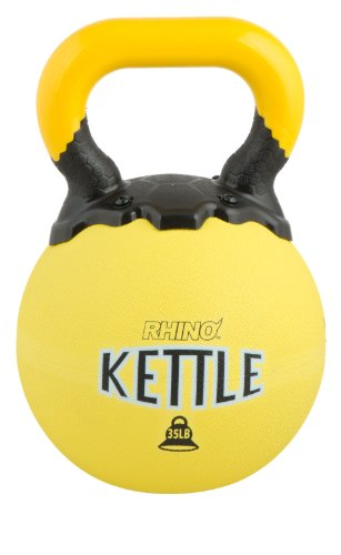 Champion Sports Rhino Kettle Bell Weights, 35-Pound by Champion Sports
