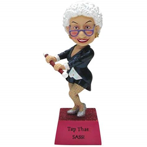 6.5 Inch Tap That Sass Collectible Biddy Bobble Figurine Statue ()