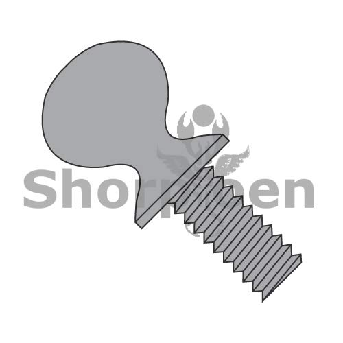 SHORPIOEN Thumb Screw with Shoulder Full Thread Plain Steel 1/4-20 x 2 1/2 BC-1440TSP (Box of 500)