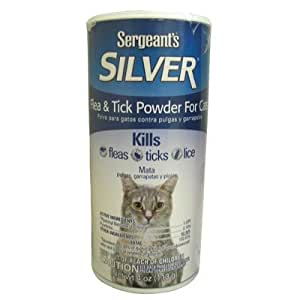 Sergeant S Silver Flea Tick Powder For Cats