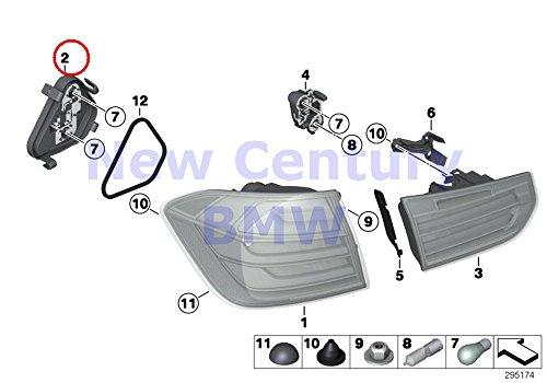 BMW Genuine Rear Light Left Rear Light Side Panel Bulb Socket 320i 320iX 328d 328dX 328i 328iX 335i 335iX Hybrid 3 M3