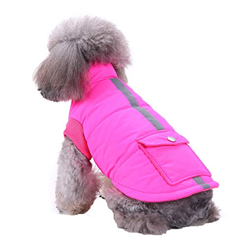 FTXJ Cat Puppy Winter Warm Costume Jacket for Small Dog Girls Boys Winter Warm Sweater Coat Puppy Costume for Chihuahua/Yorkie / - Patterns Coats Knitting Sweater