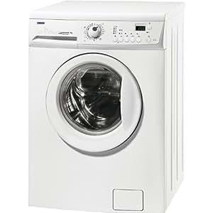 Zanussi ZKH 2105 - Lavadora-secadora (Carga frontal, Independiente, Color blanco, Izquierda, A, C)