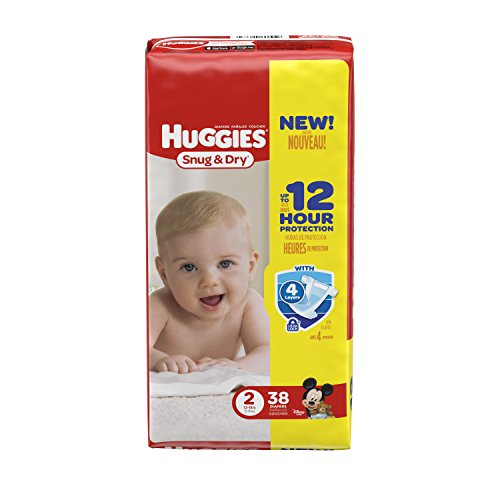diapers size 2 - 8