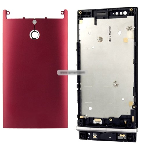 Generic Full Housing Cover compatible for Xperia P LT22 - Red (Full Housing Xperia P compare prices)