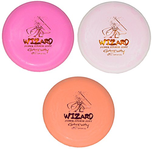Gateway Disc Golf SSS Wizard Set (173-175g) Colors Will Vary - Gateway Disc Golf Driver