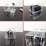 Zmmyr Acrylic Cell Phone Storage Box Chargeable