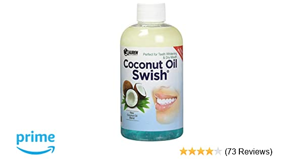 Coconut Oil Pulling Mouthwash: Great Dry Mouth remedy, & Oral Detox - Helps  Resolve Bad