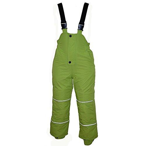 Outburst - Kids Jungen Skihose Schneehose Wasserdicht 10.000 mm Wassersäule, grün - 122grün