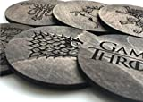 Game of Thrones Coasters, Set of 6 Coasters Gift