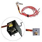 FidgetFidget 0.4 mm Assembled Nozzle Hot End Kit for MK8 Extruder ANET A2 A8 A10 3D Printer