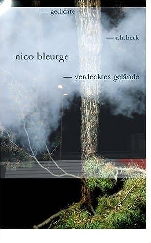 Verdecktes Gelände Gedichte Amazonde Nico Bleutge Bã¼cher