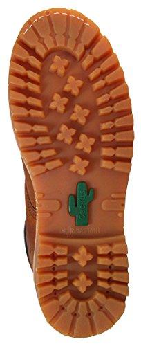 Kaktus Mens 8 Skinnoljebestandig Yttersåle Arbeidsstøvler 822 Lys Brun