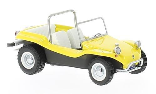 Buggy Manx Meyers Dune - VW Dune Buggy Meyers Manx, yellow, 1970, Model Car, Ready-made, Neo 1:43