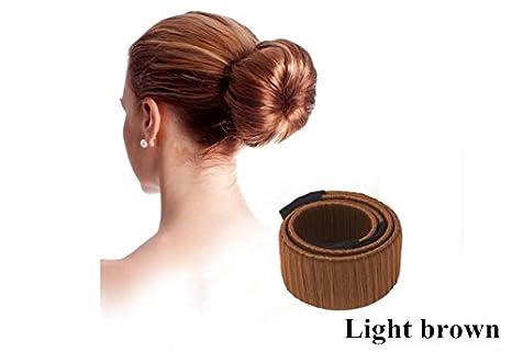josep.h Cheveux Maker,Chignon Maker Filles Femmes Hair Bun Maker Hair Donut Hair Bande Pince Bob Maker, Hair Accessoires Donut de Coiffure, Accessoires à Chignon Mariage