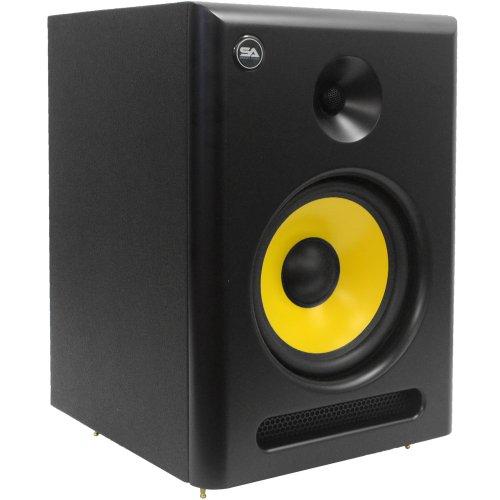 Seismic Audio - Spectra-8P-Pair - Pair of Active 2-Way 8' Studio Reference Monitors - 95 Watts RMS - Studio Monitors