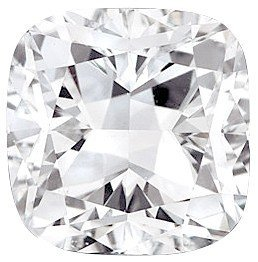 Si2 Cushion Loose Diamond (Loose Diamond Melee, Cushion Shape, G-H Color - SI2-SI3 Clarity, 3.00 x 3.00 mm in Size, 0.13 Carats)