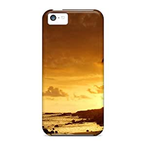 Premium Protection Nature Mexico Sunset Kauai Case Cover For Iphone 5c- Retail Packaging
