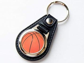 Moody Motorz Basketball - Llavero (Piel y Cromo): Amazon.es ...
