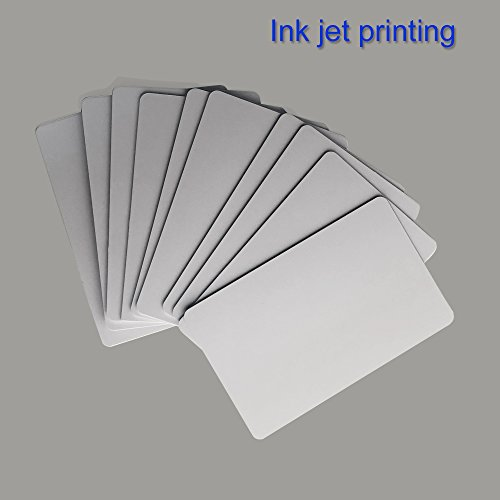 30 Mil Pvc Cards - Inkjet Printable PVC ID Cards Works with Epson and Canon Inkjet Printers, CR80( 30 MIL), Can Print on Both Sides (40pcs)-TimesKey