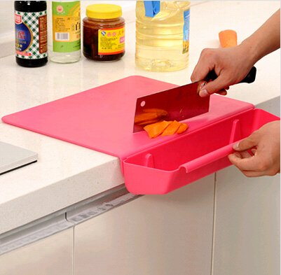 CWAIXX Kitchen appliances useful kitchen gadgets small lazy household supplies kitchen include artifact , Red