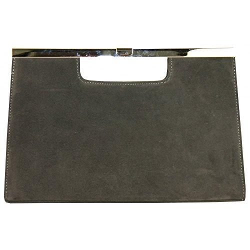Peter Clutch Handle Wye Bag Dark Grey1 Kaiser SqarZ4S