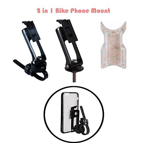 Calmpal 2 in 1 Bike Phone Mount Stem Cap Bike Phone Holder M