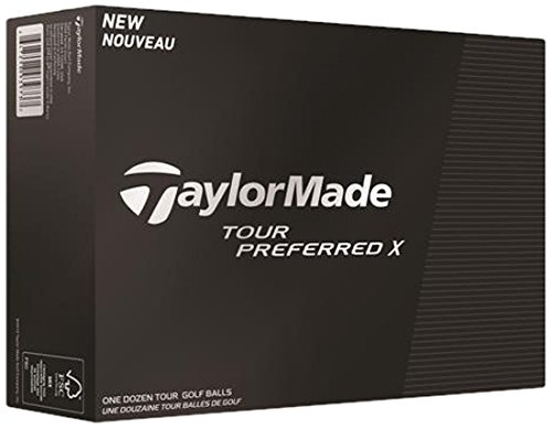 TaylorMade Tour Preferred X Golf Balls (1 Dozen)