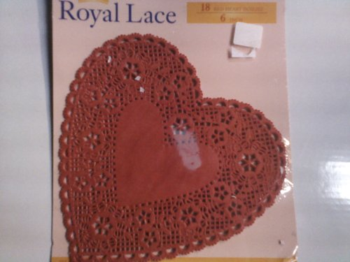(Royal Lace: 18 Red Heart Doilies - 6 Inch)