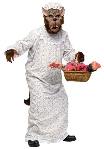 [Big Bad Granny Wolf Costume (Medium)] (Big Bad Wolf Costume Granny)
