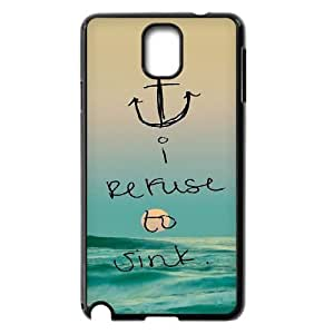 I Refuse To Sink ZLB551776 Brand New Phone Case for Samsung Galaxy Note 3 N9000, Samsung Galaxy Note 3 N9000 Case