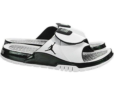 separation shoes ab975 1e3b1 NIKE Men's Air Jordan Hydro Xi Retro Slide White/Emerald Rise