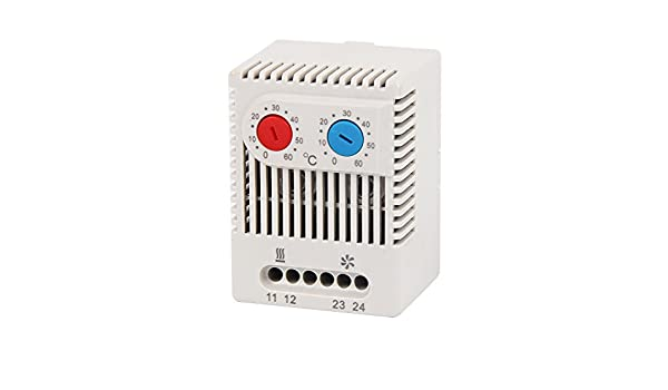 LANGIR Mechanical Stego Cabinet Dual Thermostat Temperature Controller Thermoregulator ZR011 - - Amazon.com