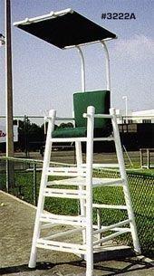 Chair Tennis Umpires (PVC Umpire Chair with Cushion)