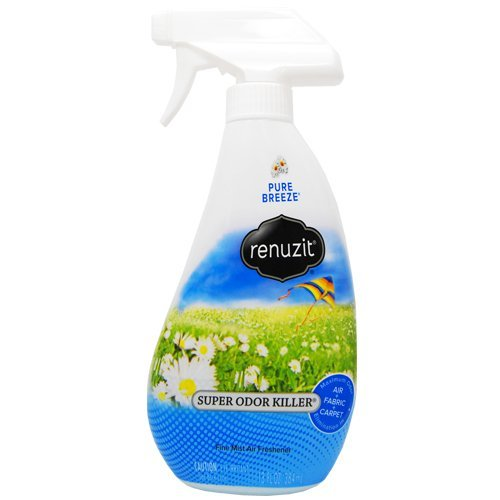 Renuzit Super Odor Neutralizer, Pure Breeze, 13 Ounce by - 13 Neutralizer Ounce Odor