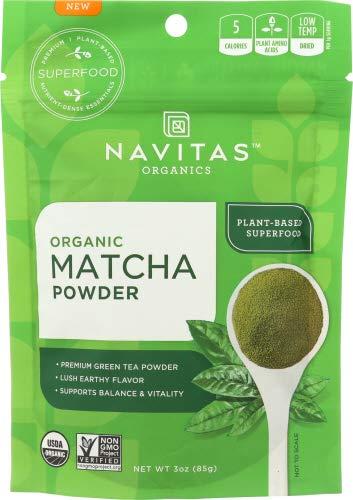 Navitas Organics Matcha Powder, 3oz ( pack of 3)