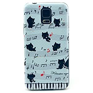 QYF Samsung S5 I9600 compatible Graphic/Cartoon/Special Design Plastic Back Cover