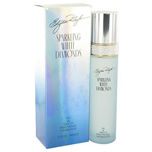 (Sparkling White Diamonds by Elizabeth Taylor Eau De Toilette Spray 3.3 oz for Women - 100% Authentic)