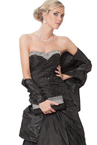 (SEXYHER Taffeta Shawl/Wrap suitable for any evening dress)