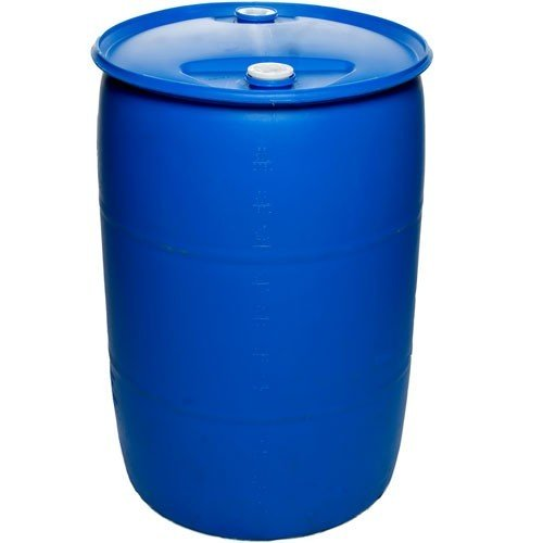 Air Sea Containers 55 Gallon Closed-Head UN Rated Poly Drum with Screw Cap by Air Sea Containers