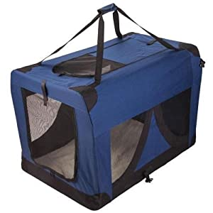 Portable Foldable Pet Soft Dog Cat Carrier Crate Travel Cage Kennel Large L/XXXL Red/Navy/Grey Click on image for further info.