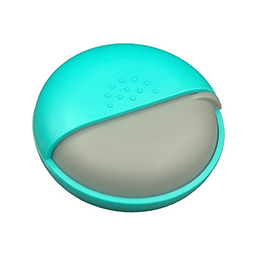 Pill Case - LazyMe Decorative Pill Box, Cute Size for Purse Small Daily Case (1, Green)