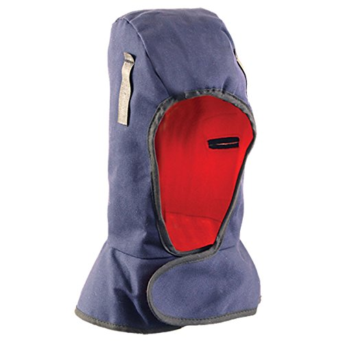 - OccuNomix Navy Blue 100% Cotton Twill Hot Rods Premium Shoulder Length Insulated Winter Liner With Red 3M Thinsulate Thermal Middle And Heavyweight Polyester Fleece Lining And DuPont Tyvek Insulated Ear Barrier