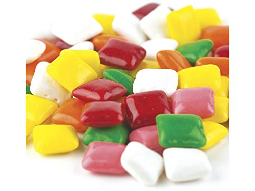 (YANKEETRADERS Assorted Fruit Flavored Chiclets Gum (2 Lbs Bulk)