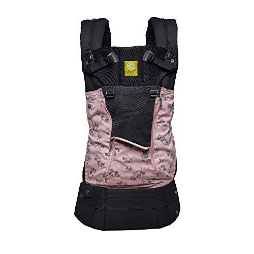 SIX-Position, 360° Ergonomic Baby & Child Carrier Disney Baby Collection by LILLEbaby - The Complete All Seasons (Minnie Classic)