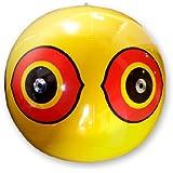 Bird-X Scare-Eye® Bird Repellent Predator Eyes Balloon, Yellow